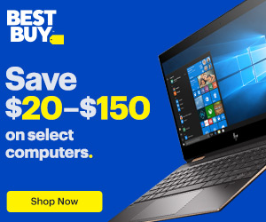 Save $20–$150 on select computers. Plus free shipping.