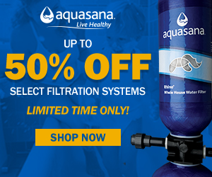 50% Off Select Filtration Systems
