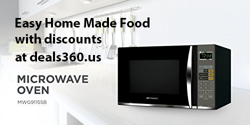 Deals On Emerson 1100w Microwave Oven