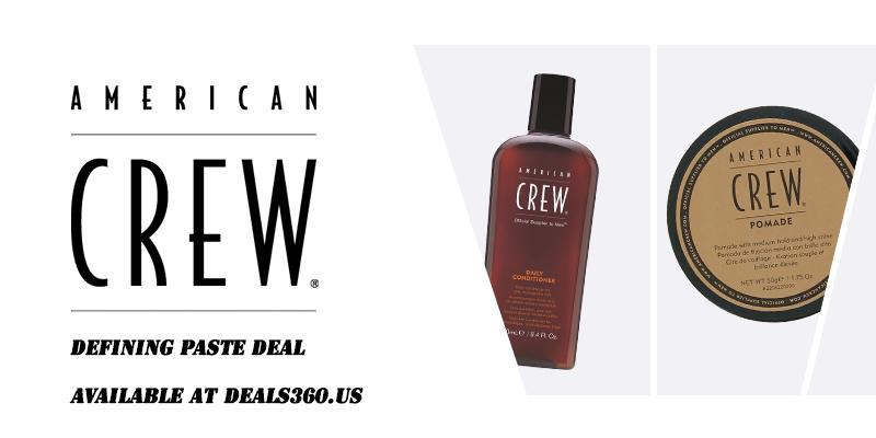 Discount on American Crew Defining Paste
