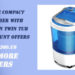 Mini Washer with Wash &Spin Twin Tub with discount offers