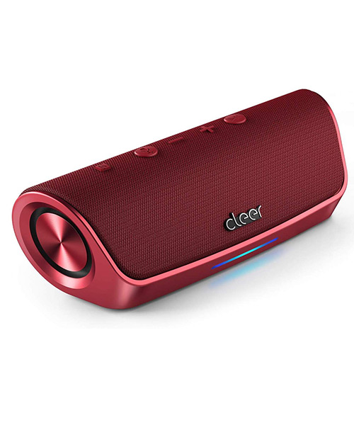 Cleer Stage Amazon Alexa Enabled with Wireless Speaker (Red) Deals