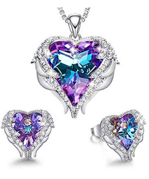 CDE-Angel-Wing-Heart-Necklaces-and-Earrings Deals
