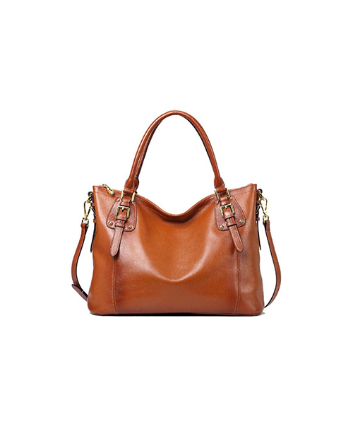 Kattee Women's Genuine Leather Handbags Deals