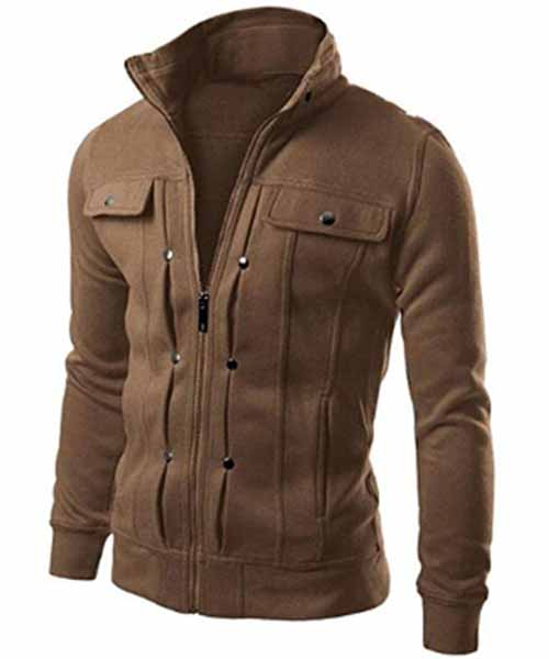 Mens-Slim-Designed-Lapel-Cardigan-Jacket Deals