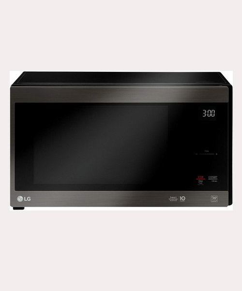 LG Black Stainless Steel series microwaves with Smart Inverter & Easy clean Deal