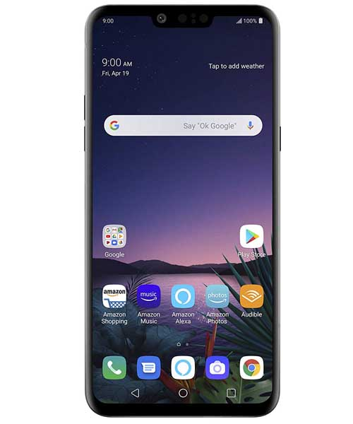 LG G8 ThinQ with Alexa Hands-F