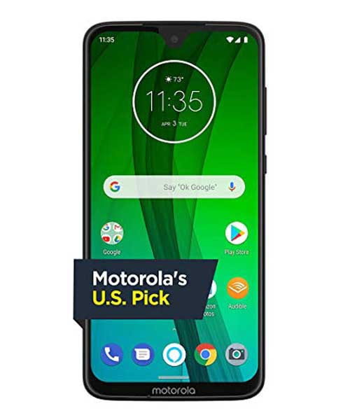 Moto G7 Android 9.0 with  4GB