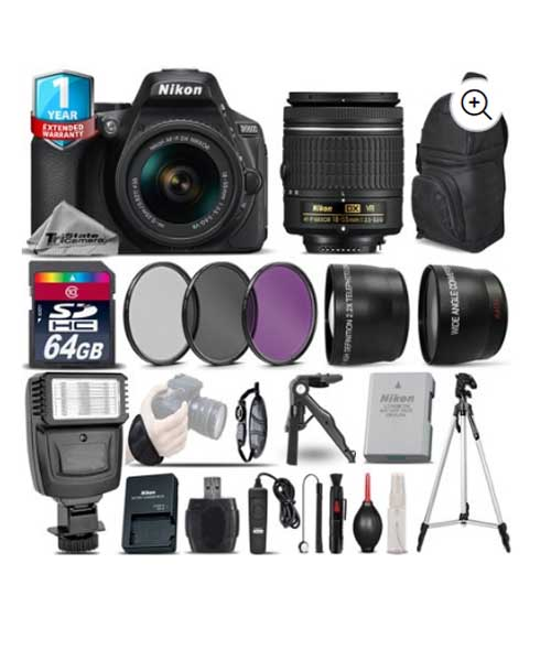 Nikon D5600 DSLR Camera with 18-55mm VR Deals
