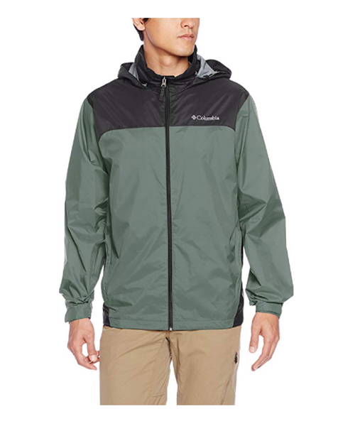 Columbia Men's Glennaker Lake Front-Zip Rain Jacket Deals