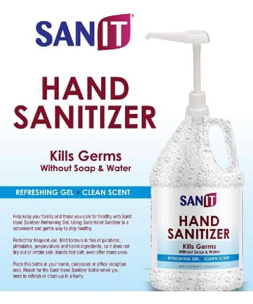 Sanit Gel Hand Cleaner Deals