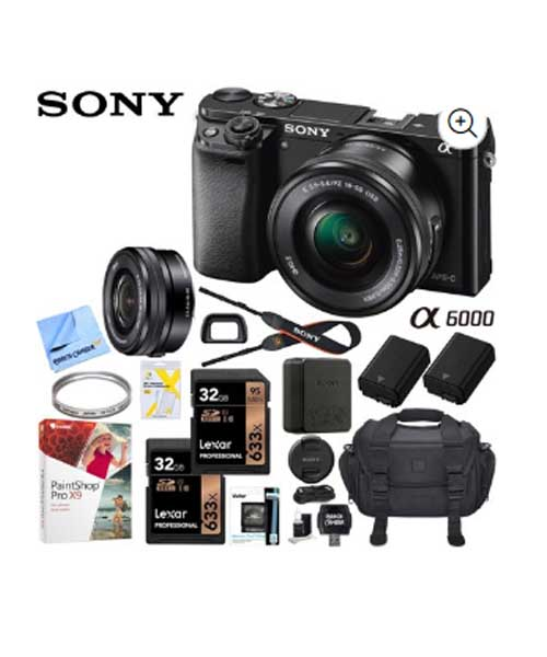 Sony Alpha a6000 Mirrorless Digital Camera Deals