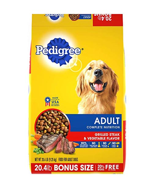 Pedigree Adult Dry Dog Food wi