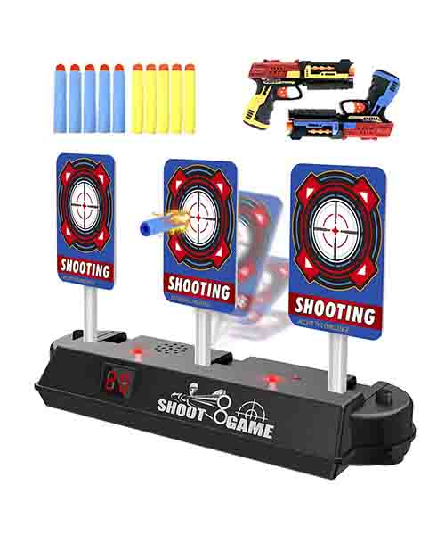 Homily Digital Target Compatible for Nerf Guns Rival Deals