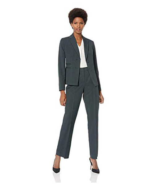 Women's 2 Button Lapel Pant Su