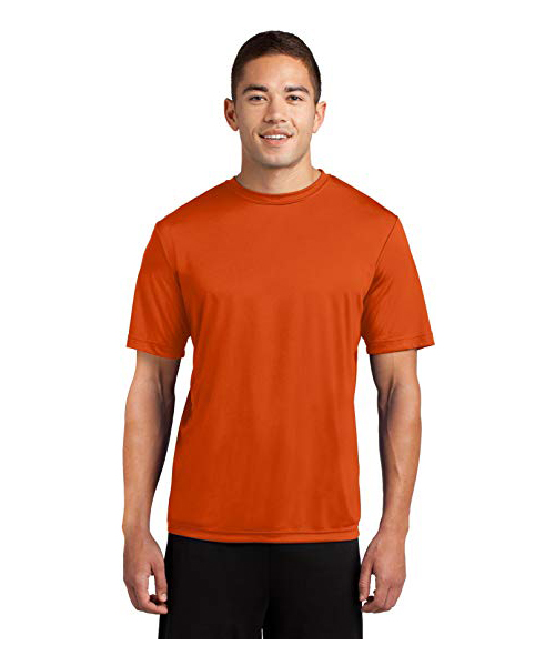 Dri-Tek Men's Short Sleeve Moisture Wicking Athletic T-Shirt Deals