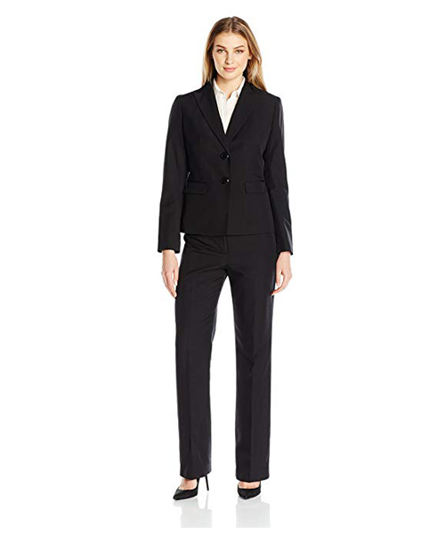 Women's 2 Button Pant Suit Dea