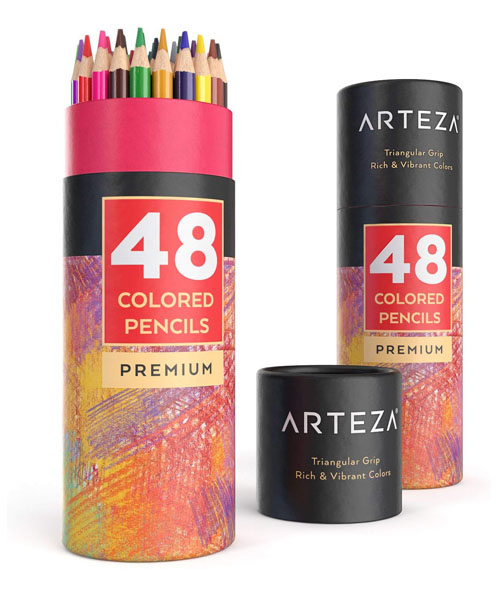 Color Pencil Set for Vibrant A