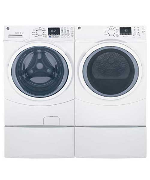 GE Front Load Steam GFW450SSMWW 27 Inch Washer Deals