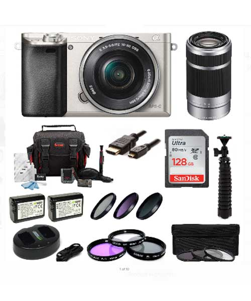 Sony Alpha A6000 ILCE6000L/S 24.3 MP Interchangeable Lens Camera Deals