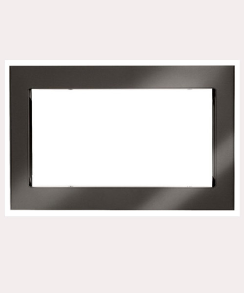 LG -29 inch Trim For LG Microwaves with print proof Black Deals