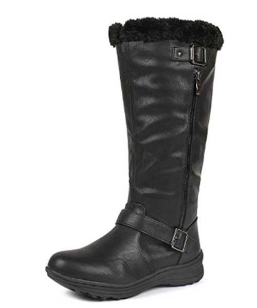 DREAM PAIRS Women's Winter Lined High Boots Deals