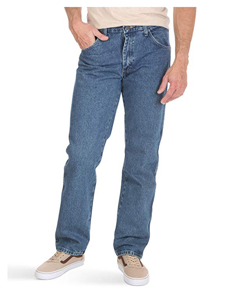 Wrangler 5 pocket jeans deal
