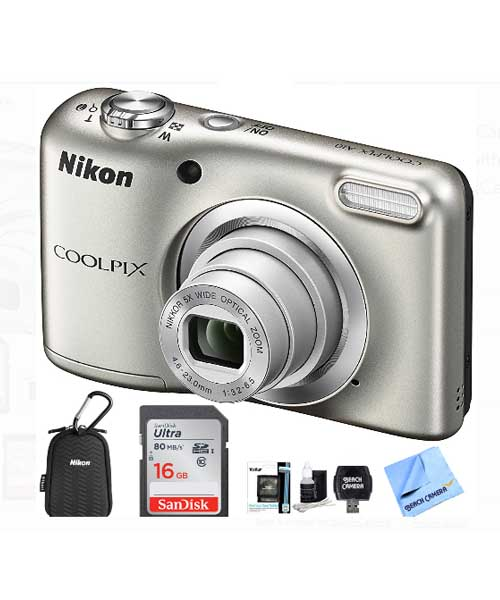 Nikon COOLPIX A10 Digital Camera with 16.1MP Deals