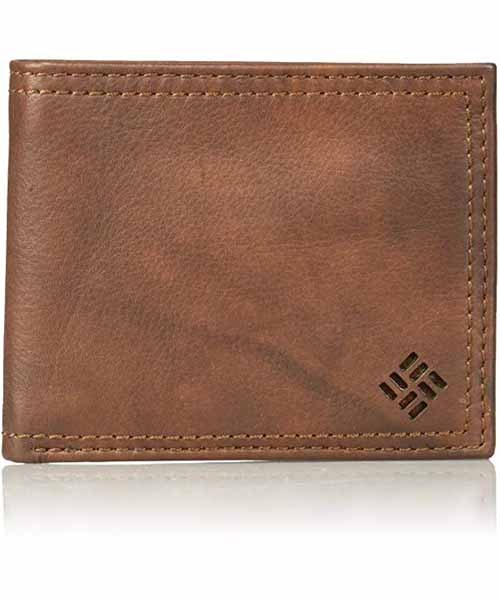 Columbia-Men-Leather-Slimfold-Wallet Deals