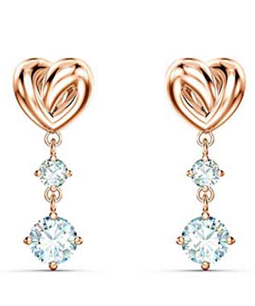 SWAROVSKI-Women-Lifelong-Heart-Pierced-Earrings Deals