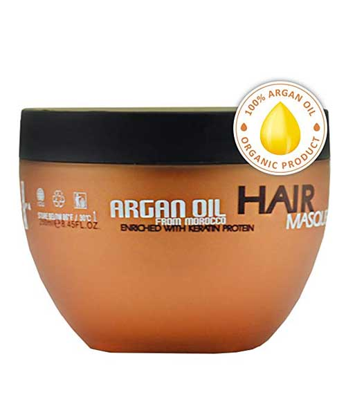 Argan Oil Hair Mask for Dry or