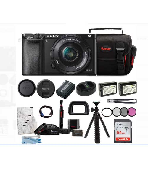 Sony Alpha a6000 Mirrorless Camera Deals