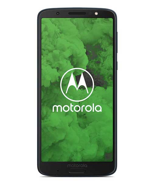 Motorola Moto G6 Plus with Fac