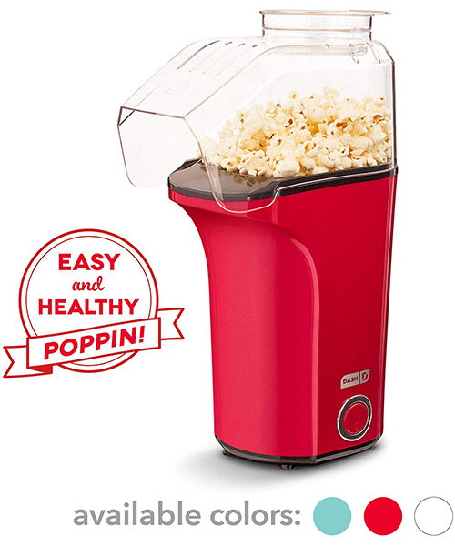 Dash DAPP150V2RD04 Hot Air Popcorn Popper Maker with Measuring Cup Deals