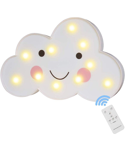 Cloud Night Light with Remote Timmer Deals