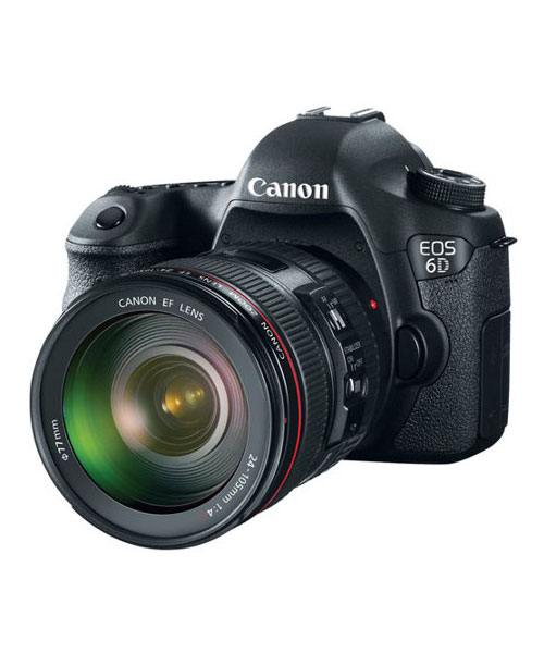 Canon EOS 6D DSLR Camera with 24-105mm Lens Deals