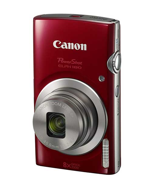 Canon PowerShot ELPH 180 Digital Camera with image Stabilization Deals