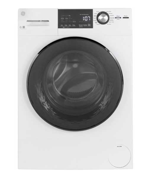 GE 14 –Cycle Front loading washer|2.4 cu.ft |White Deals