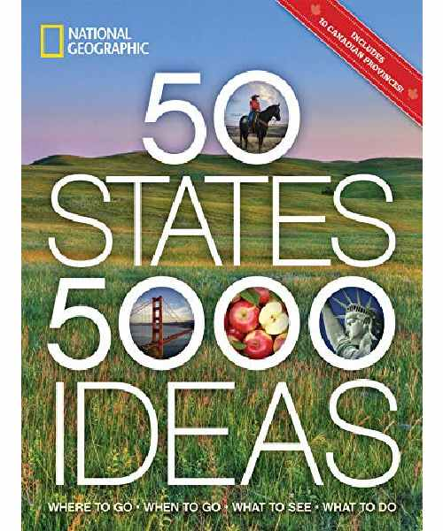 50 States, 5,000 Ideas- Kindle Edition Deals