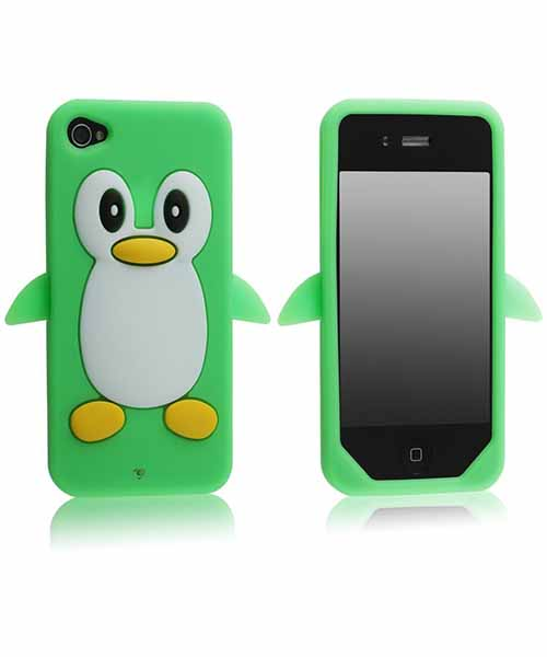 Hot-Penguin-Soft-Silicone-Rubber-Skin-Case-Cover Deals