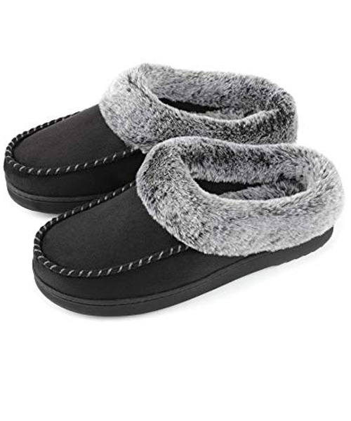 Women's Cozy Suede Slippers De