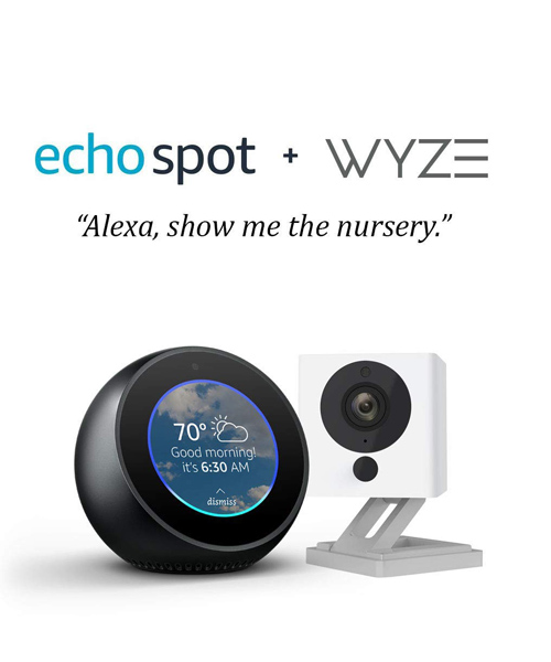 Amazon echo smart camera deal