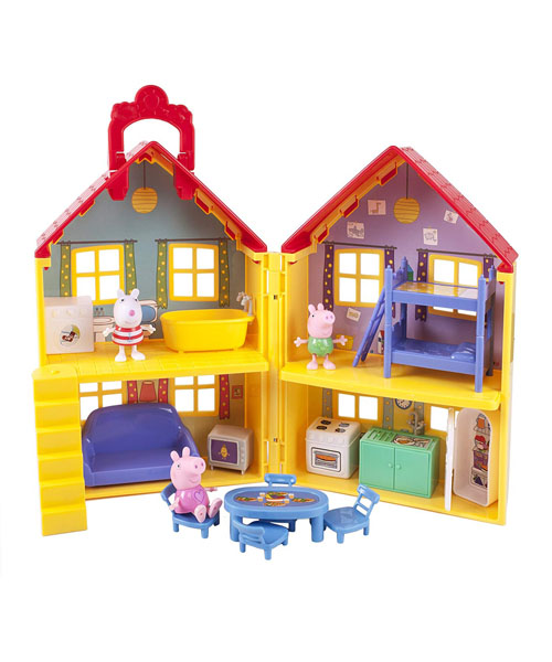 Peppa Pig's Deluxe House kit f