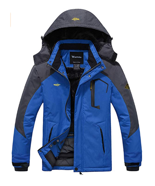 Wantdo Men's Mountain Waterproof Ski Jacket Deals