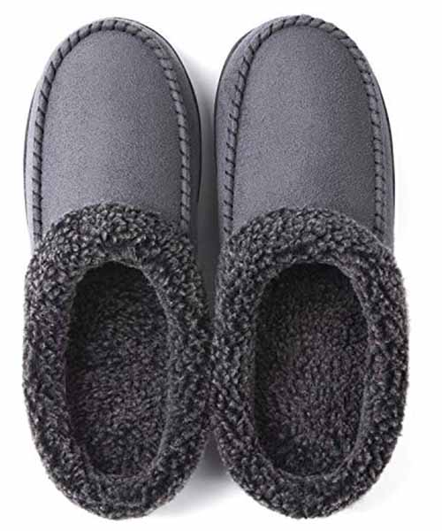 ULTRAIDEAS-Men-Cozy-Memory-Foam-Slippers Deals
