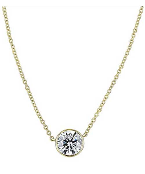 Diamond-Bezel-Set-Necklace-in-White Deals