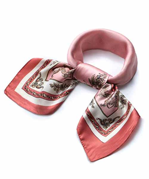 QBSM-Satin-Silk-Square-Neck-Scarf-for-Women Deals