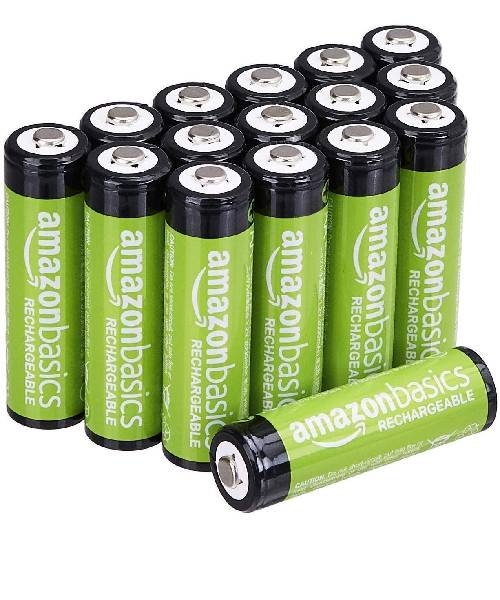 AmazonBasics-AA-Rechargeable-Batteries-Pack-of-16 Deals