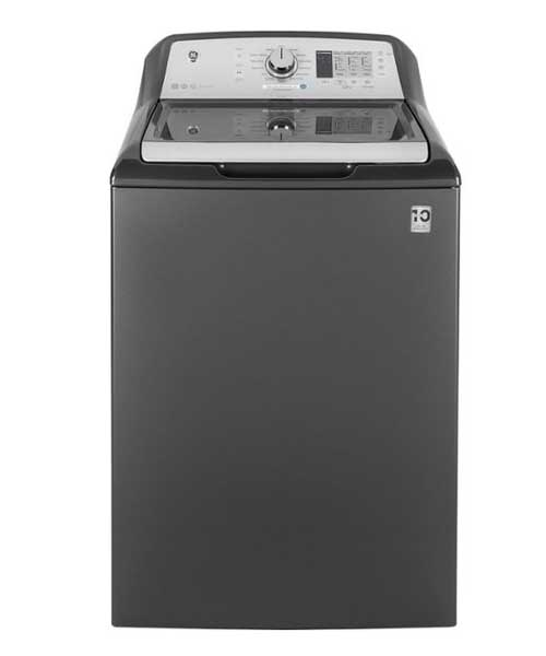 GE -14 Cycle Top Loading Washer | 4.6 cu.ft|Diamond Gray Deals