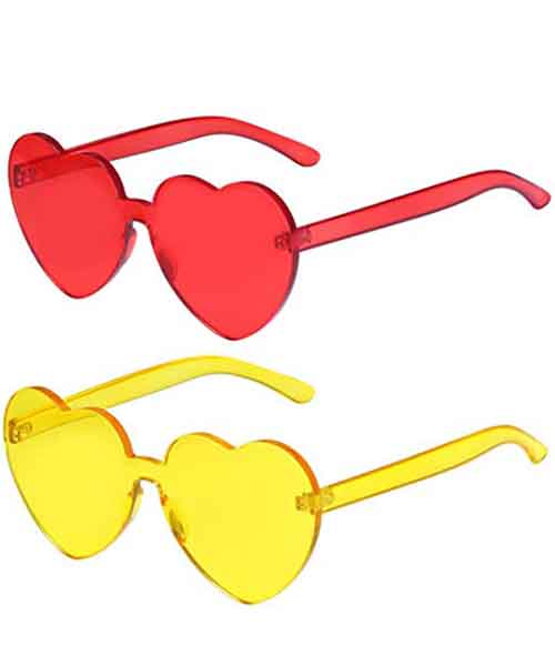 Rimless-Candy-Color-Transparent-Sunglasses Deals